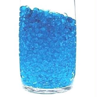 100 Billes d'eau hydrogel bleues