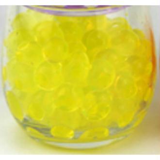 100 Billes d'eau hydrogel jaunes