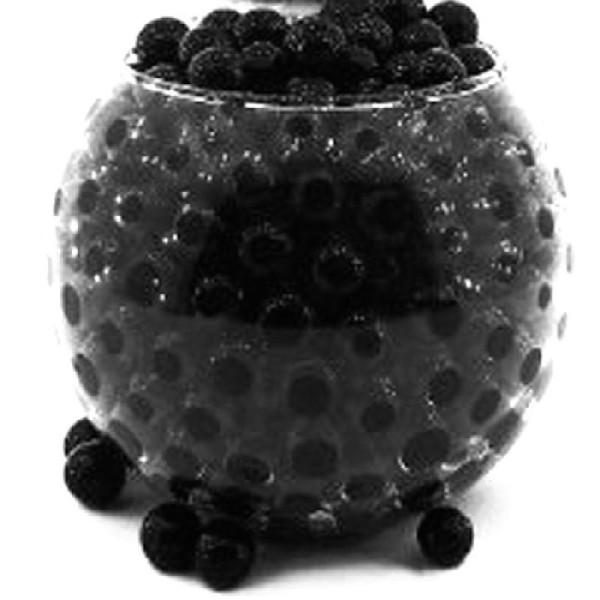 100 Billes d'eau hydrogel noires - Photo n°1