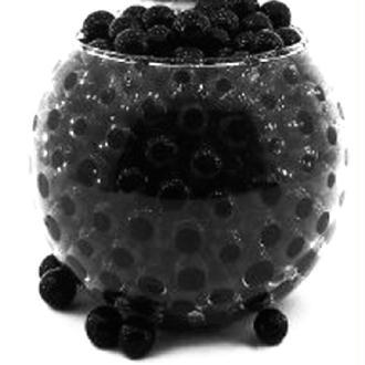 100 Billes d'eau hydrogel noires
