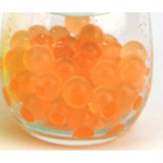 100 Billes d'eau hydrogel oranges