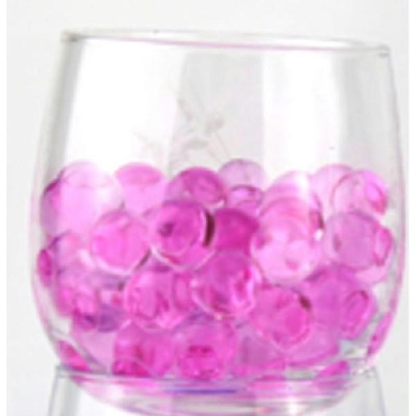 100 Billes d'eau hydrogel roses - Photo n°1