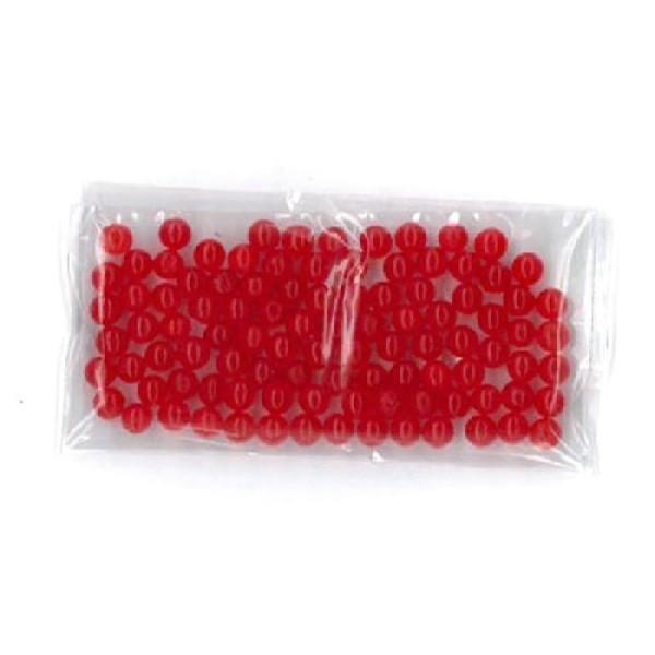 100 Billes d'eau hydrogel rouges - Photo n°2