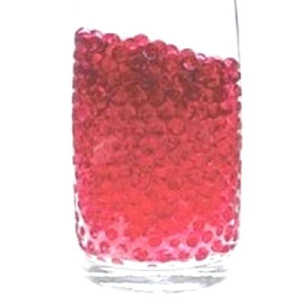 100 Billes d'eau hydrogel rouges - Photo n°1