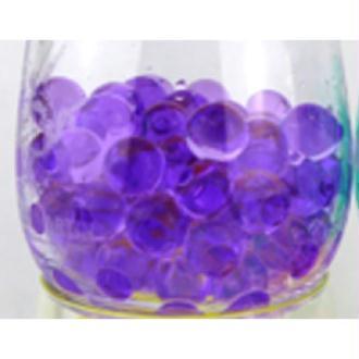 100 Billes d'eau hydrogel violettes