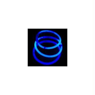 100 Bracelets fluo bleu