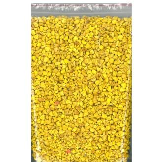 200 gr Gravier Jaune Décoratif Parfumé 6/8 mm