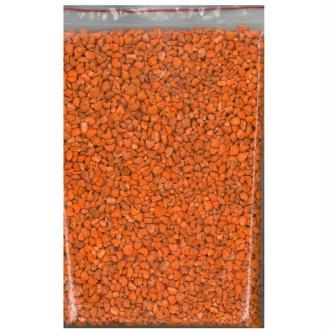 200 gr Gravier orange décoratif parfumé 6/8 mm