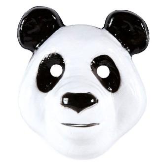 4 masques panda mixte PVC 3D (23 x 20 cm)