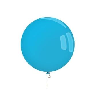 Ballon ultra géant bleu diam. 70 cm