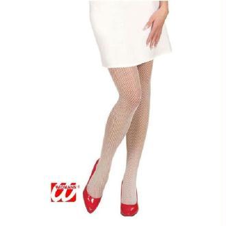 Collant résille blanche - Taille M/L