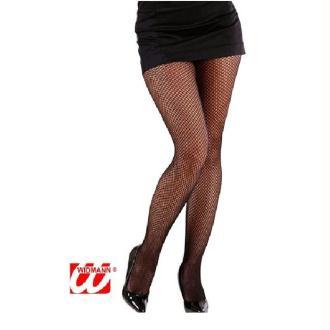 Collant résille noir - Taille M/L