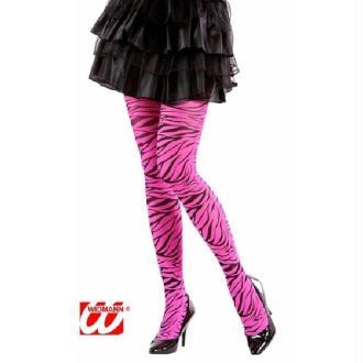 Collant tigresse rose M/L