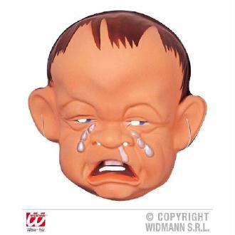 Masque bébé pleurant
