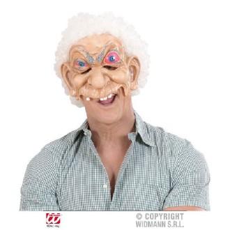 Masque humoristique vieillard