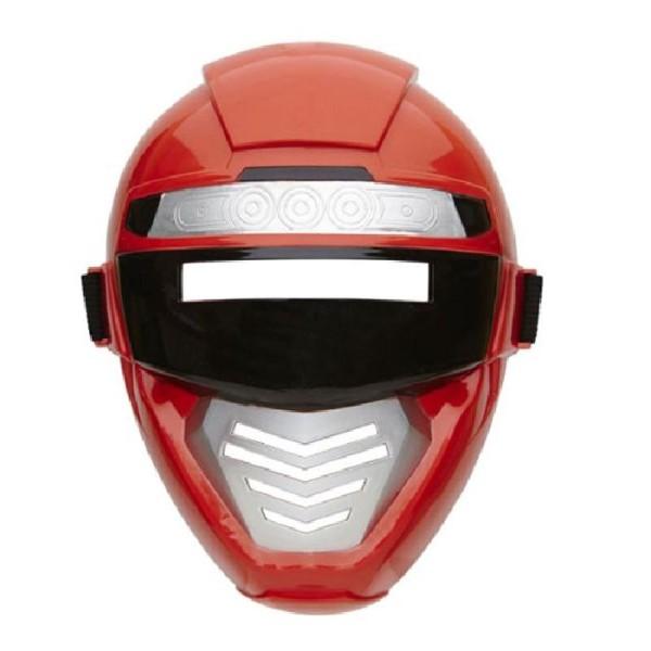 Masque robot enfant rouge - Photo n°2