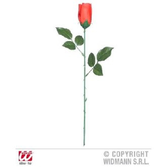 Rose en tissu 44 cm