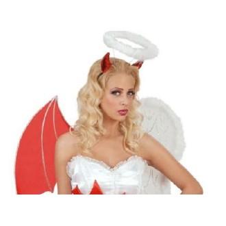 Serre-tête ange et démon