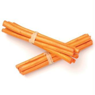 Tiges de bambou 13cm Orange - Lot de 3