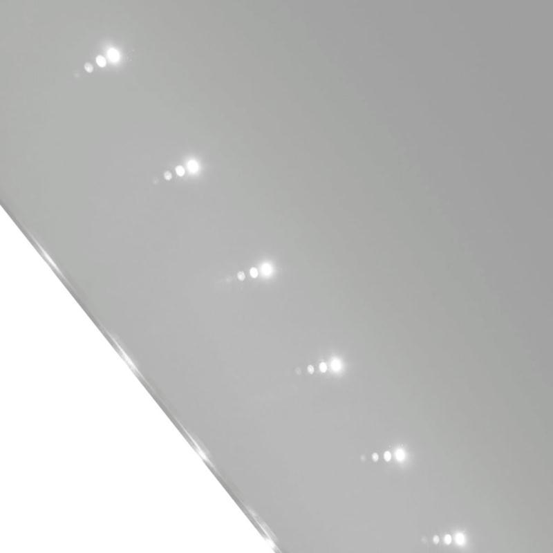 miroir de salle de bain avec clairage led 60 x 80 cm l x