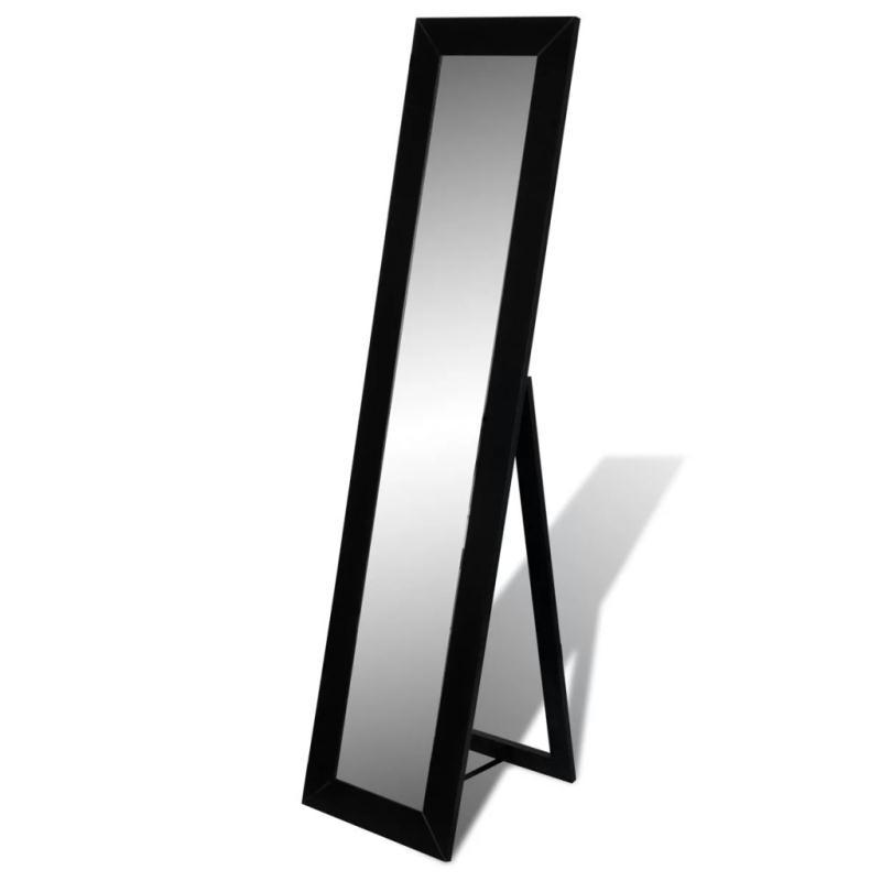 Miroir en pied noir miroir adh sif creavea for The miroir noir