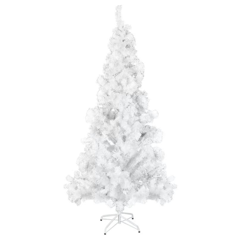Sapin de no l artificiel blanc 910 branches le march - Sapin de noel artificiel blanc ...