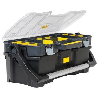 Stanley boîte à outils 24 pouces avec plateau amovible