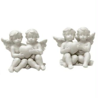 Figurine anges Saint Valentin 4,5 cm