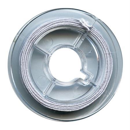 Fil élastique Blanc 0,6mm - 5m