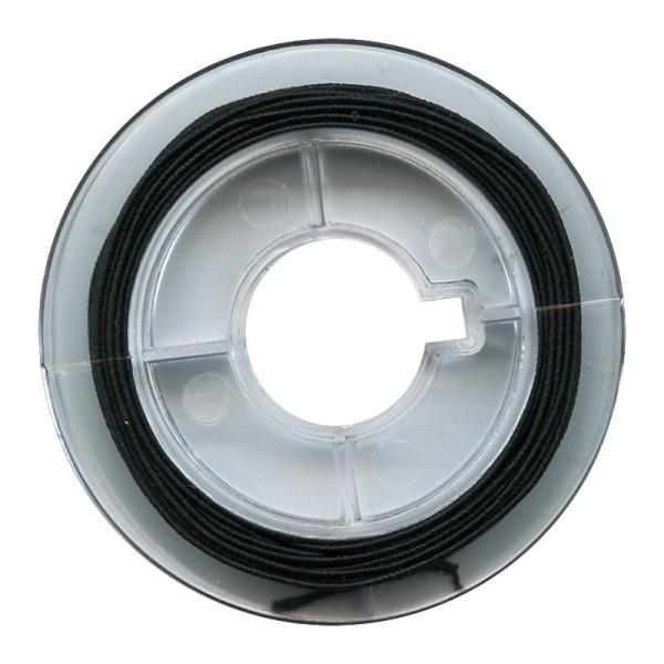 Fil élastique Noir 0,6mm - 5m - Photo n°1