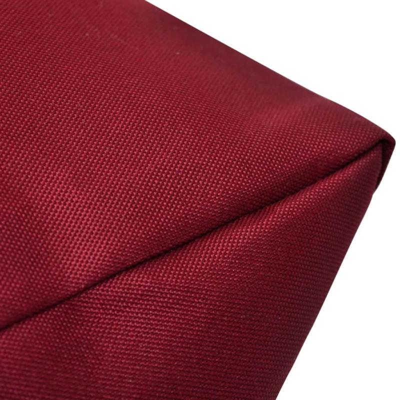 coussin pour le dos 80 x 40 x 20 cm rouge vineux coussins pour