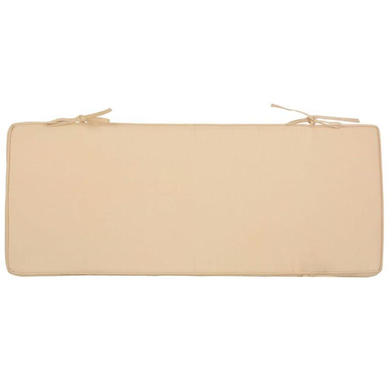 design coussin pour banc 98 5 x 39 5 cm beige mf019 coussins pour