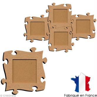 Cadre photo puzzle 19 cm