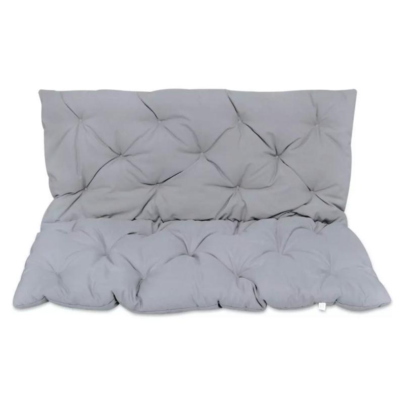 coussin gris pour balancelle 120 cm coussins pour fauteuils et canap s creavea. Black Bedroom Furniture Sets. Home Design Ideas