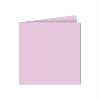 Papier Pollen carte double 135 x 135 Glycine x 25
