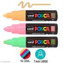 Marqueur Posca pointe conique large 5,5 mm Couleurs assorties - Photo n°1