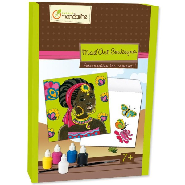 Kit créatif Mail'art Soukeyna - Photo n°1