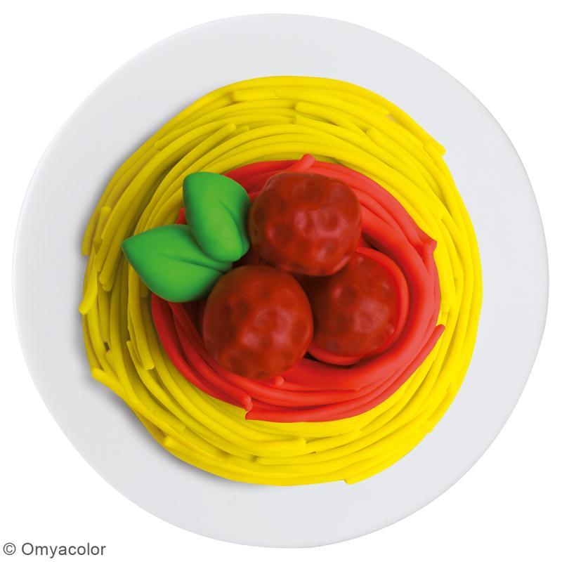 Set Pâte à modeler GIOTTO Bébé - Spaghetti - 16 pcs - Photo n°3