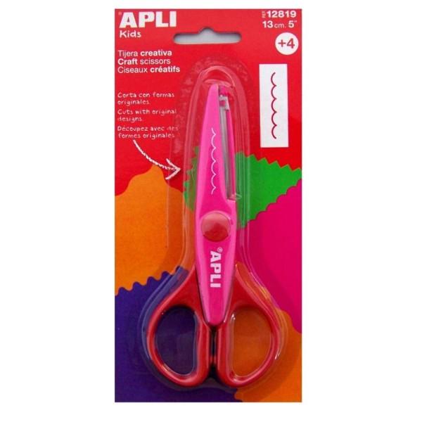 Ciseaux cranteurs Dents - APLI - 13 cm - Photo n°1