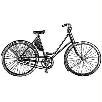 Tampon Vintage Vélo