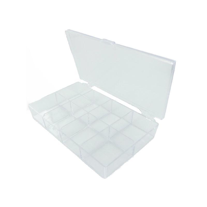 Bo te de rangement 8 cases en plexi l 135 x l 80 x h for Accessoire de rangement de cuisine