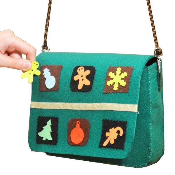 Formes adhésives en feutrine 1 mm - Motifs de Noël - 3 à 5 cm - 150 pcs - Photo n°2