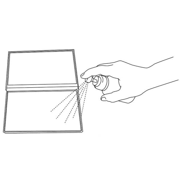 Bloc nettoyant pour tampons bois et transparents - Photo n°4