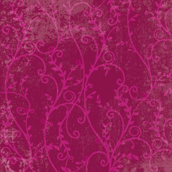 Papier scrapbooking Flowers Umea - Set 12 papiers recto/verso 30,5 cm - Photo n°3