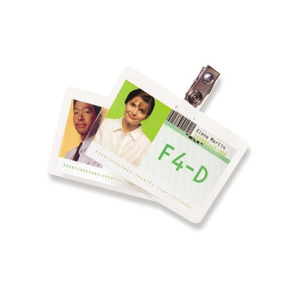 Pochette de plastification badge GBC - Photo n°1
