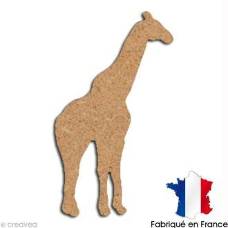 Girafe en bois 15 cm