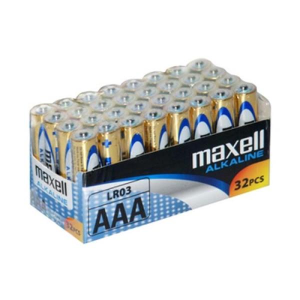 Piles alcalines Micro AAA, pack de 32 - Photo n°1