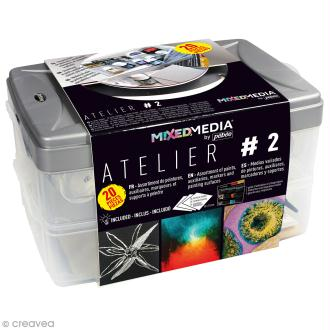 Coffret Atelier Mixed Media N°2 Pébéo - 20 pcs