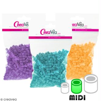 Perles à repasser Creavea - Diam. 5 mm - 50 g (environ 1000 pcs)