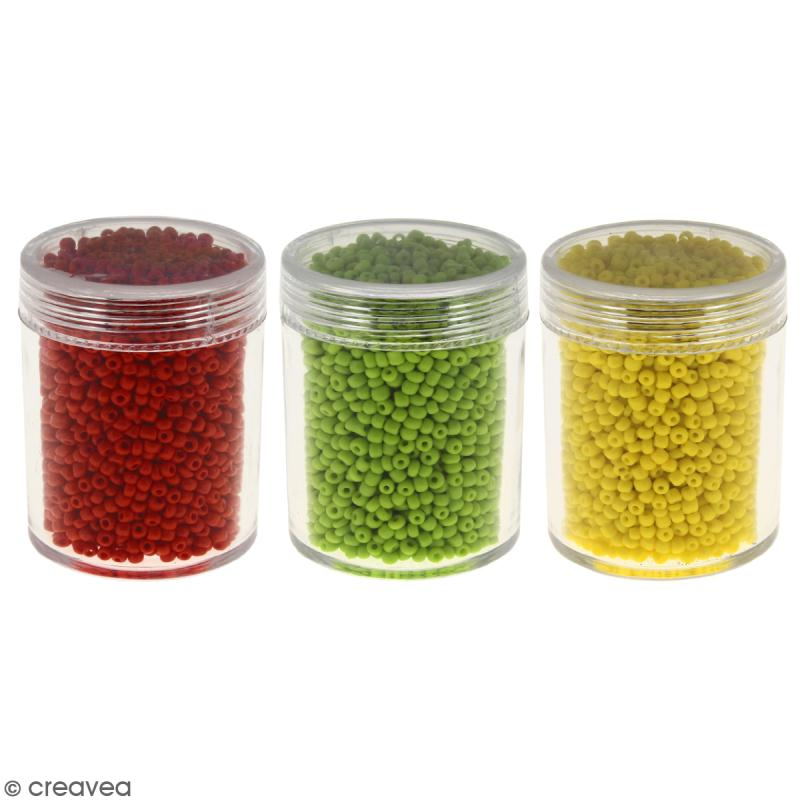 Perles de rocaille 2,5 mm - 50 g - Photo n°1